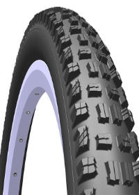 Mitas Bike Tire R02 Highlander Black